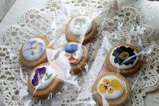 画像3: Le Cielオリジナルエディブルフラワークッキーとハーブティーのおうちカフェセット (3)