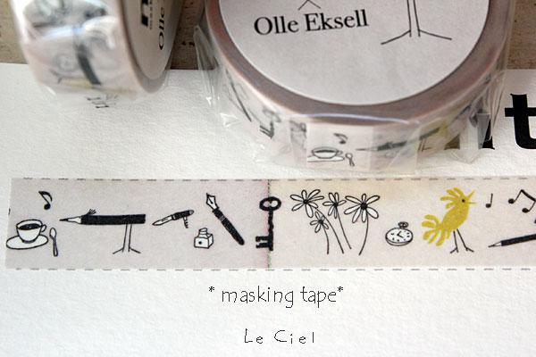 画像1: mt×Olle Eksell Bird Pencil (1)