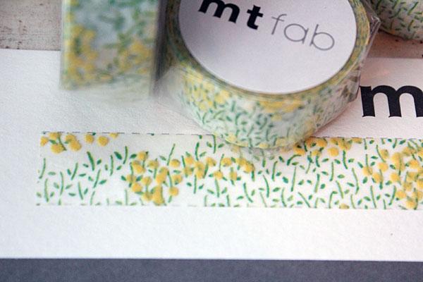 画像1: mt fabフロッキー 菜の花 (1)