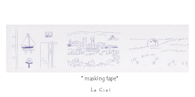 画像1: mt×G8安西水丸 drawing (1)