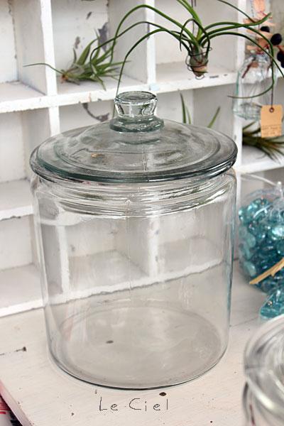 画像1: ガラスウェア ジャー L-CL (1)