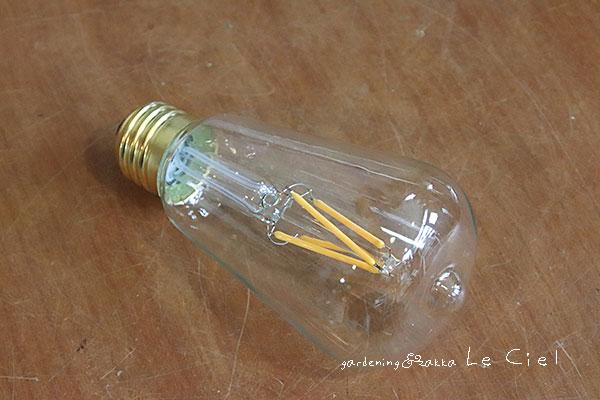 画像1: エジソンランプLED電球E26 (1)