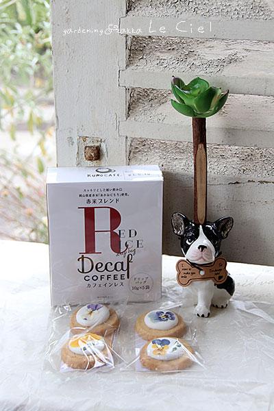 画像1: 赤米カフェインレスコーヒーと犬のギフトセット (1)