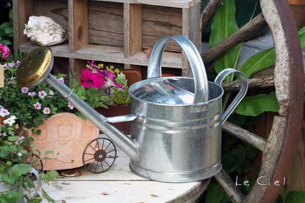 画像1: Tin Watering Pot 4L (1)