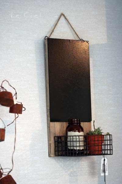 画像1: Rustic wall blackboard (1)